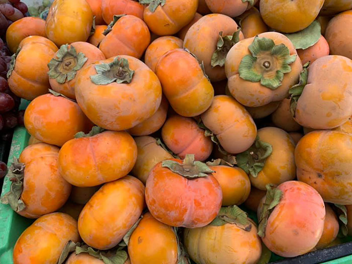 Persimmons from Ponce Oak Park Farmers Market