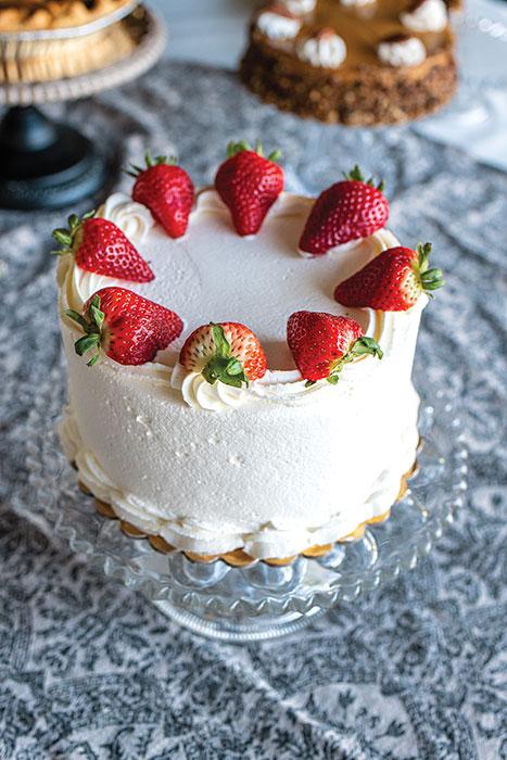 Fruit basket cake freeport