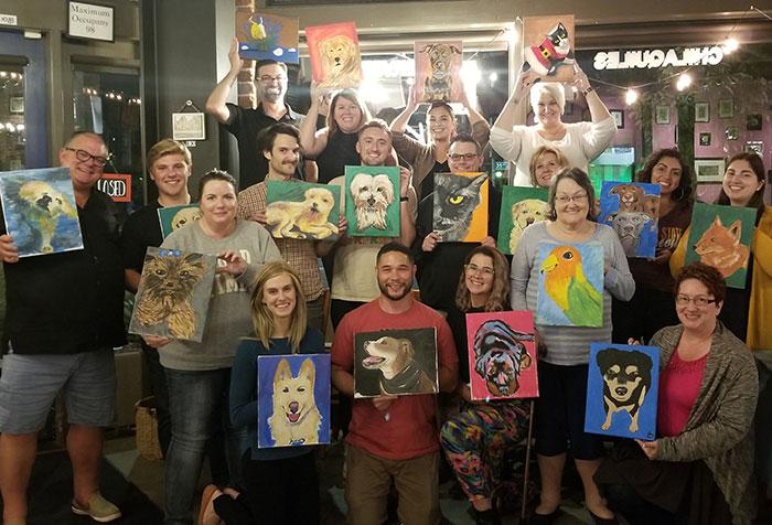 paint your pet group
