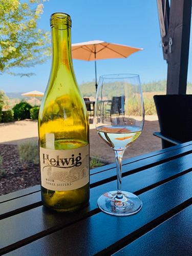helwig winery behind the cellar door