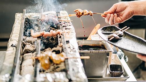 food to go binchoyaki