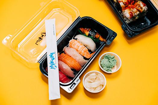 mikuni sushi takeout