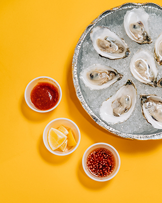 oysters takeout