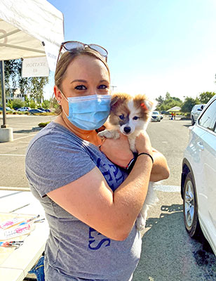 elk grove animal shelter drive thru vaccine clinic