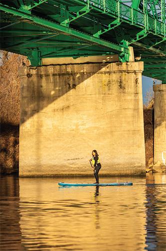 Jaime Caluya on the river