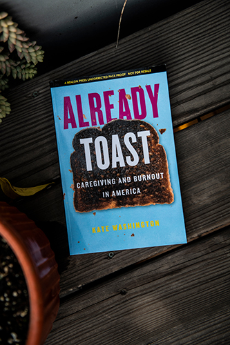 Book called Toast about caregiver