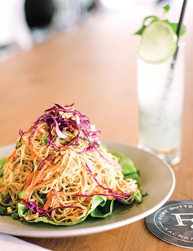 Thai noodle salad paragary