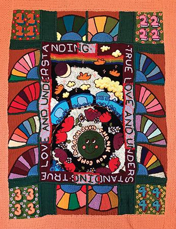 esther marie hall textile art