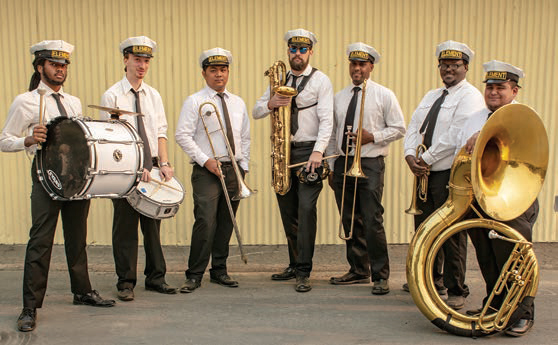 Element Brass Band recommended by katie knipp