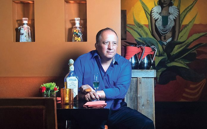 ernesto delgado owns Mayahuel, La Cosecha and Mesa Mercado