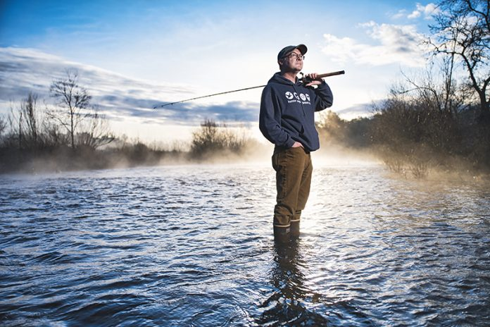 Hank Shaw at the American River