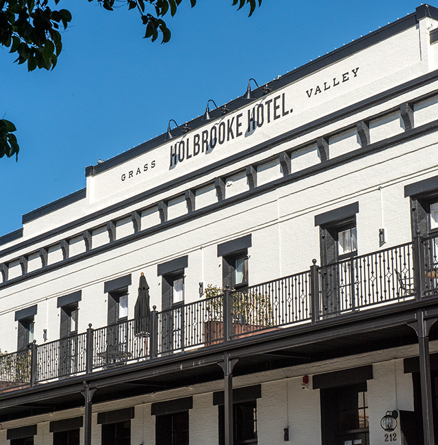 holbrooke hotel grass valley