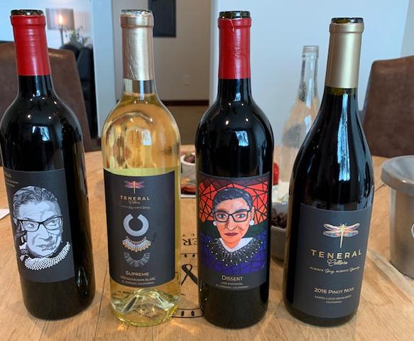 teneral cellars wine options