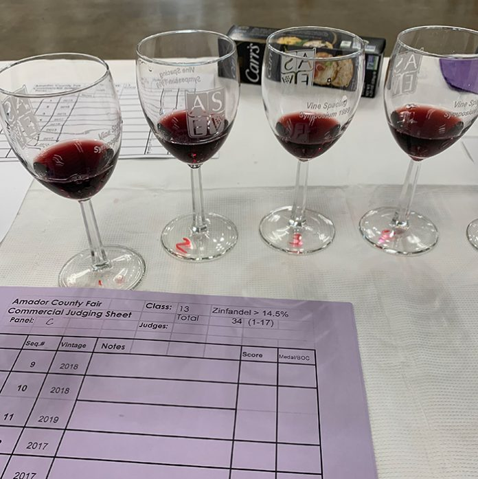 amador county fair wine competition