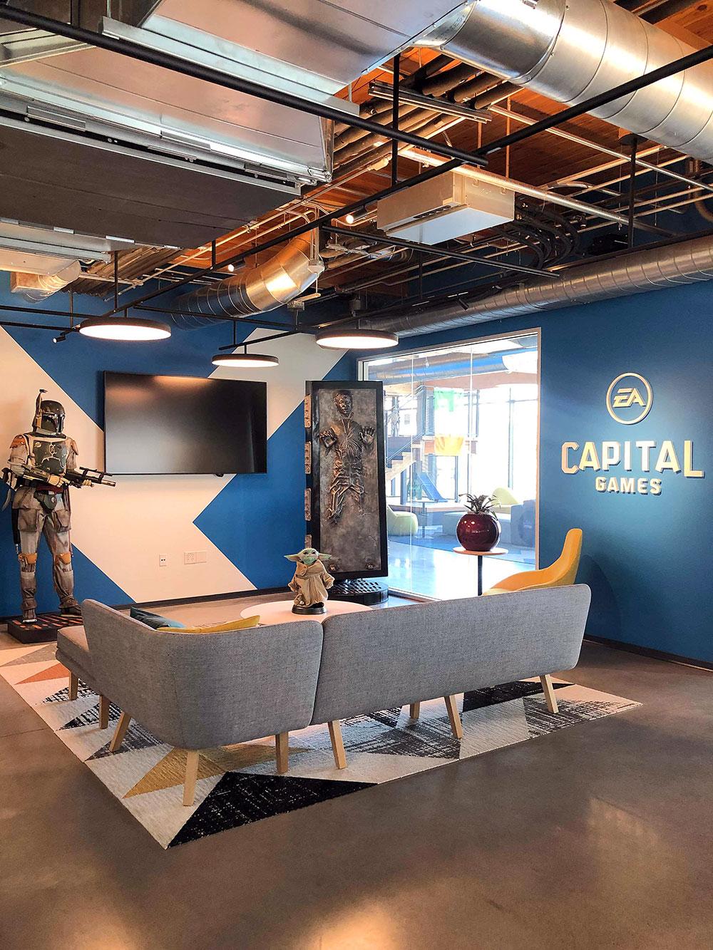 capital games studio lobby