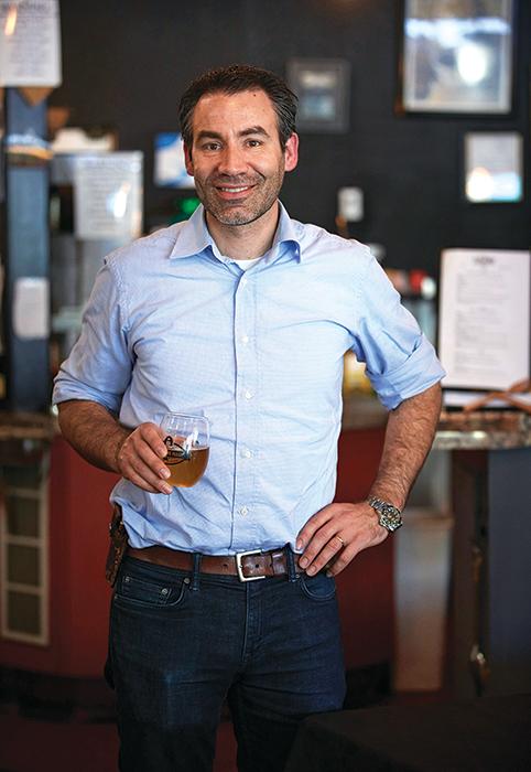 Juan Barajas owner of Savory Café in Woodland