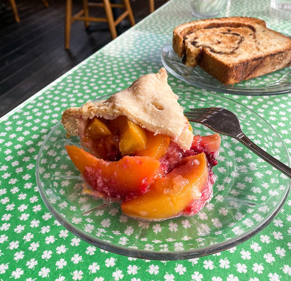 pie from sweetie pie's in placerville