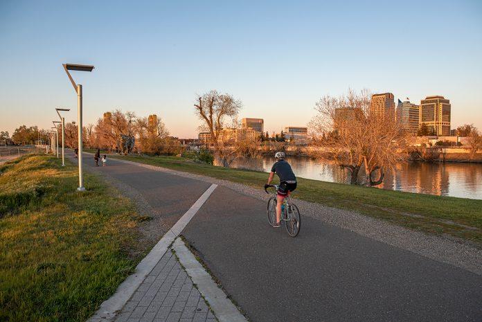 bridge district west sacramento gravel bike ride