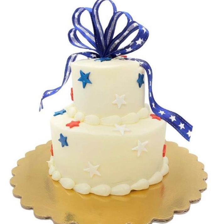freeport bakery mini 4th of July cake