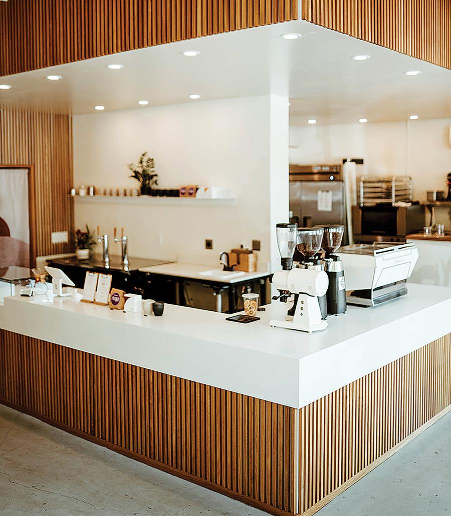 interior of Scorpio coffee