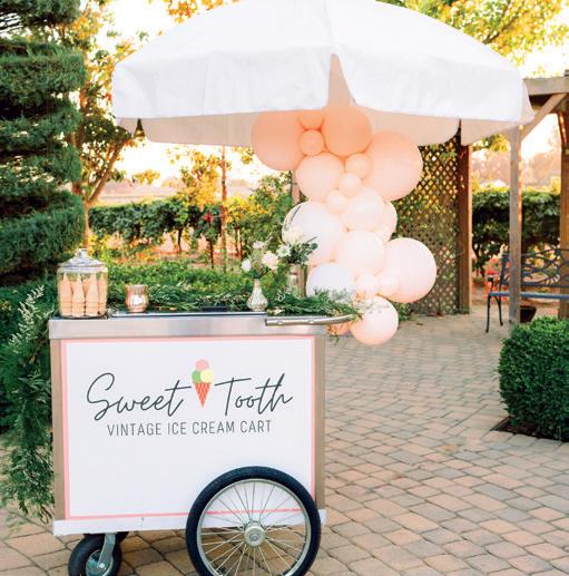 Sweet Tooth Vintage Ice Cream Cart