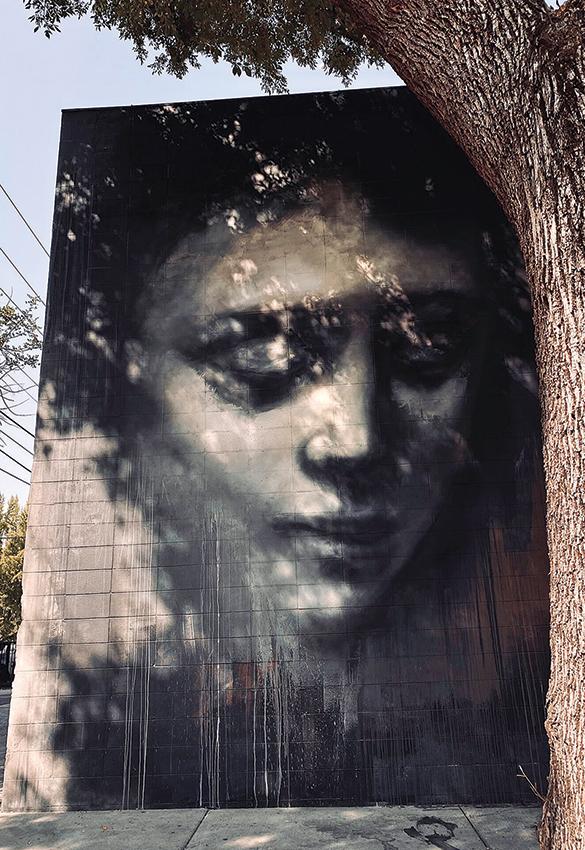 street art by lin fei fei
