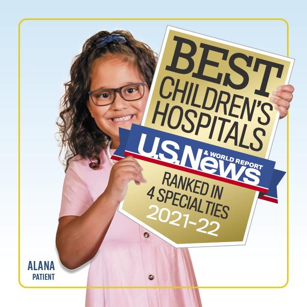uc davis health children's hospital nationally ranked