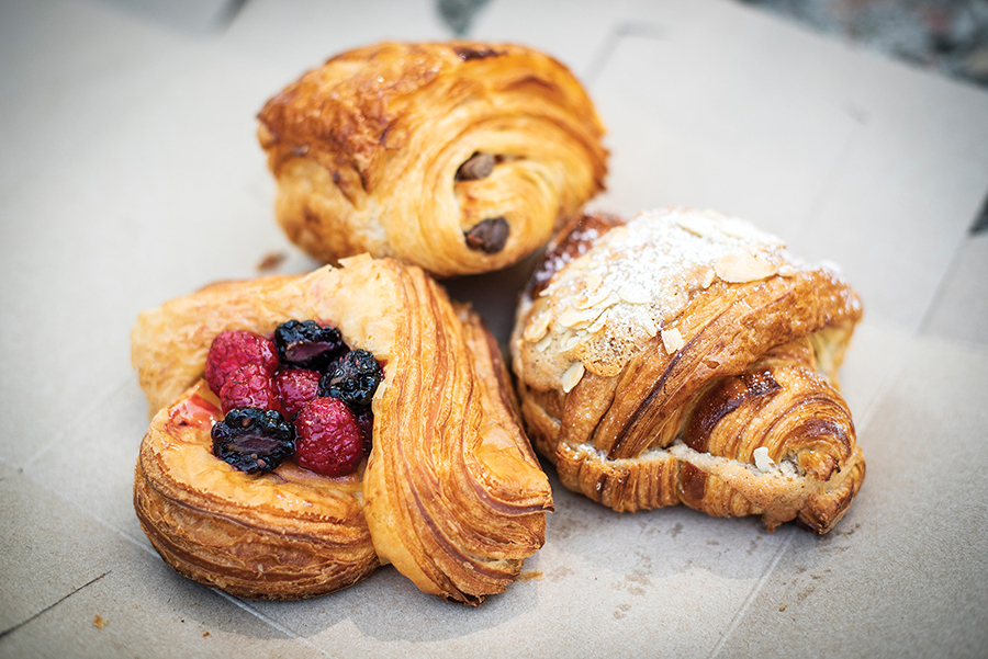 bakers on the rise at a bakery in healdsburg