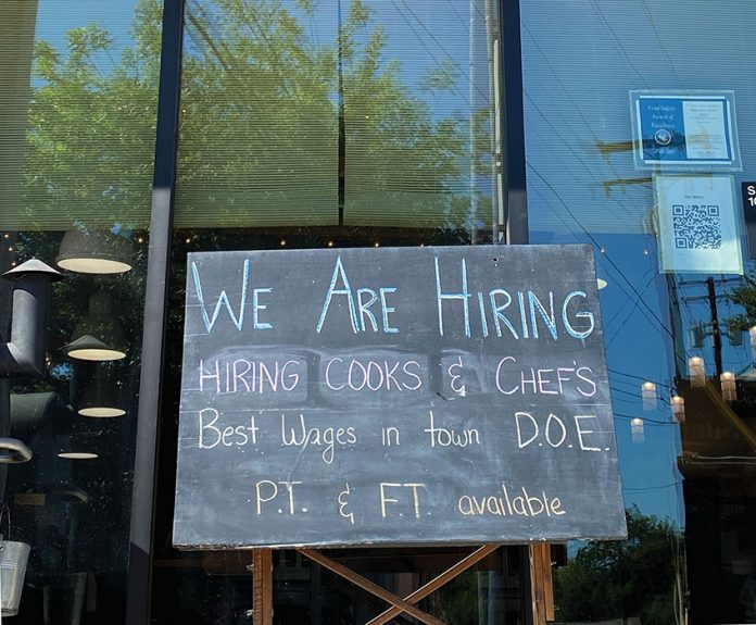 restaurant owners are having a tough time hiring