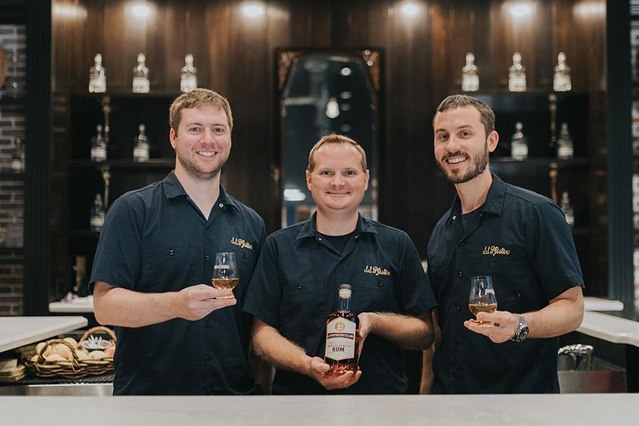 j.j. pfister distilling team
