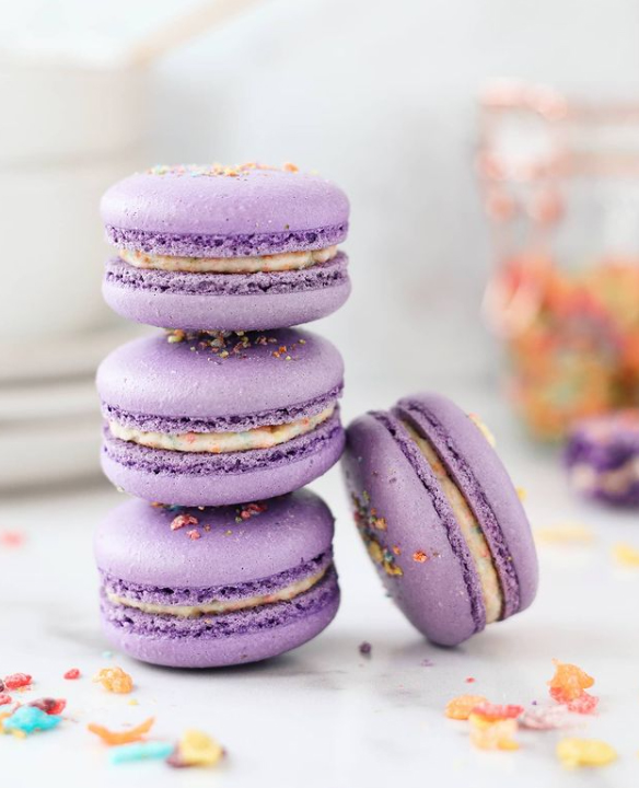 macarons from petite miette