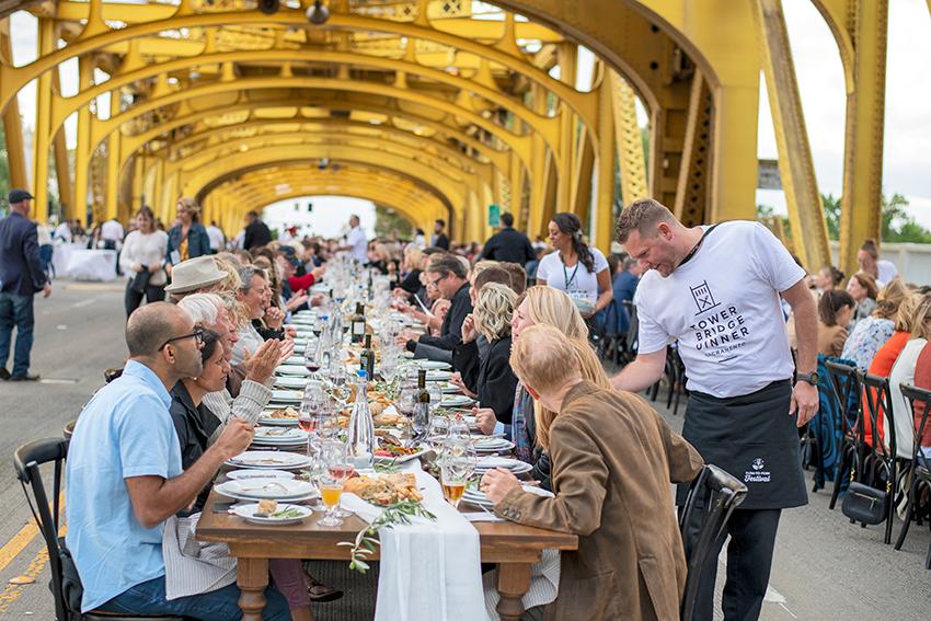 farm-to-fork festival tower bridge dinner