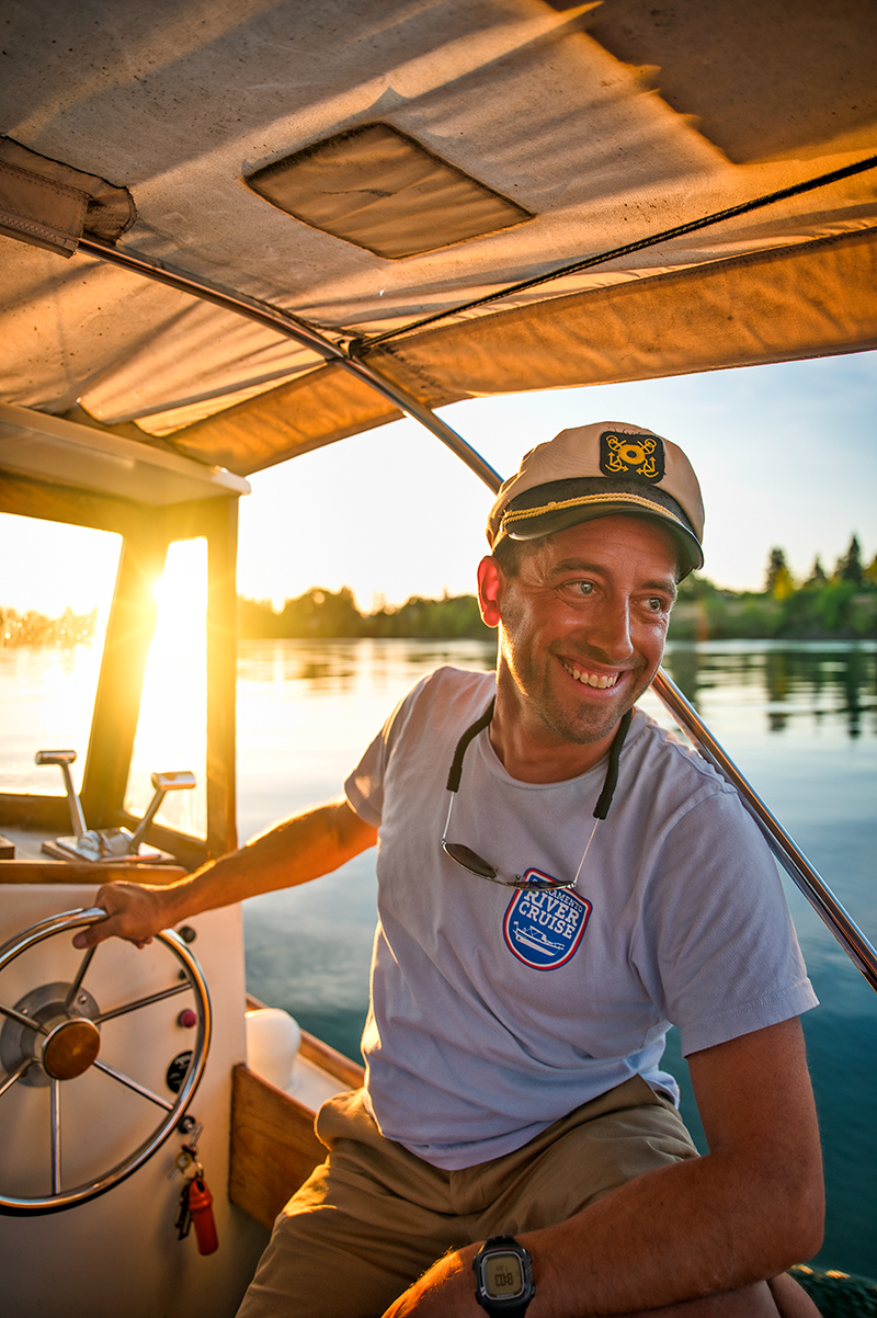 Emil Gagliardi owner of Sacramento River Cruise