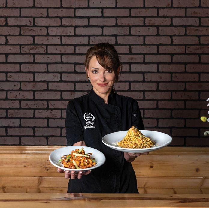 Che Buono Trattoria Pizzeria owner Luciana Basile-Lewis