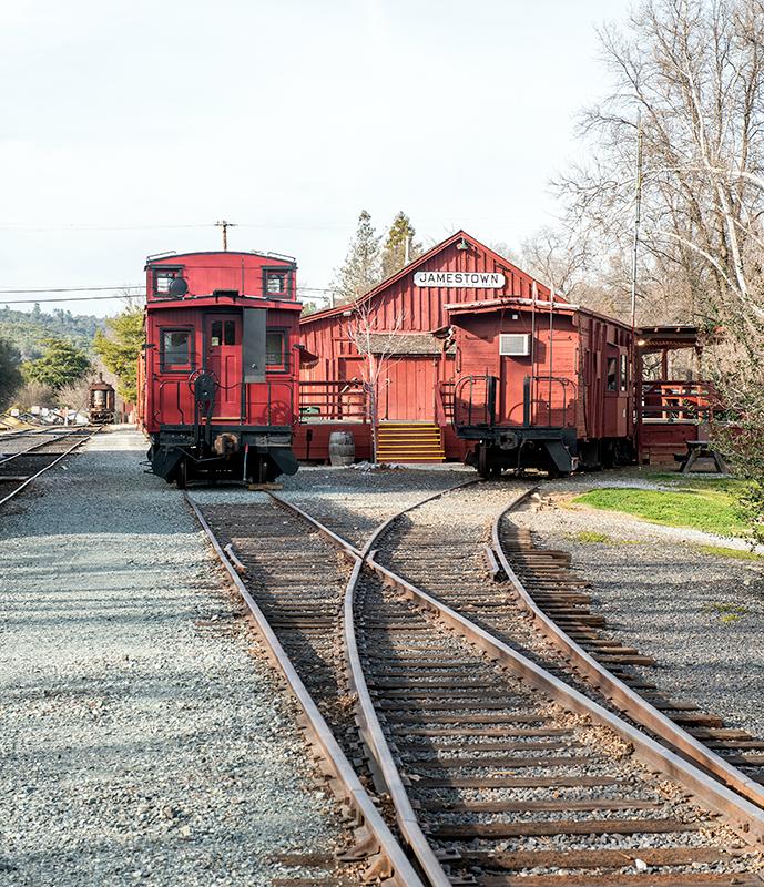 jamestown rail staion