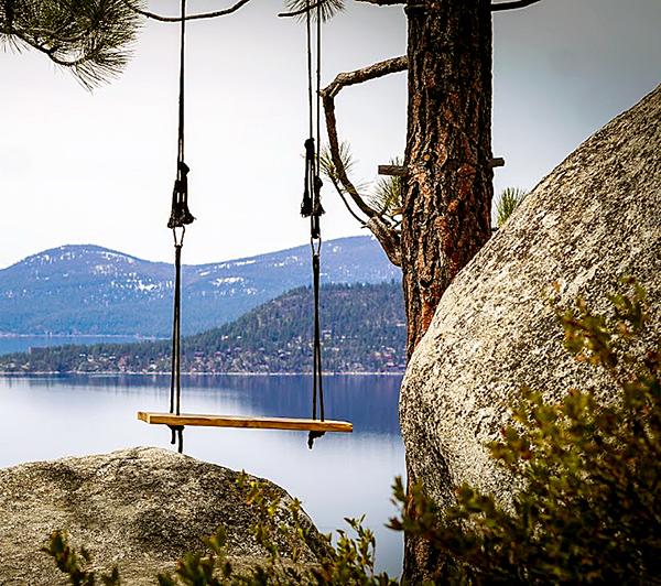 monkey rock rope swing