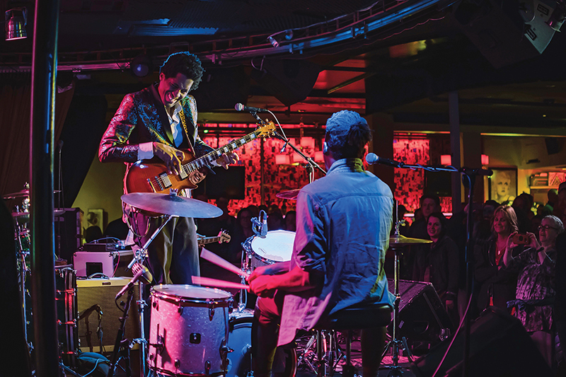 Ron Artis II and the Truth at Harlow's music venue