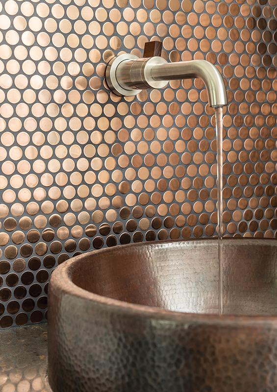 copper penny interior designer Rebecca Ward