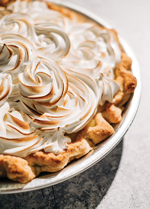 lemon meringue pie at midtown bakery