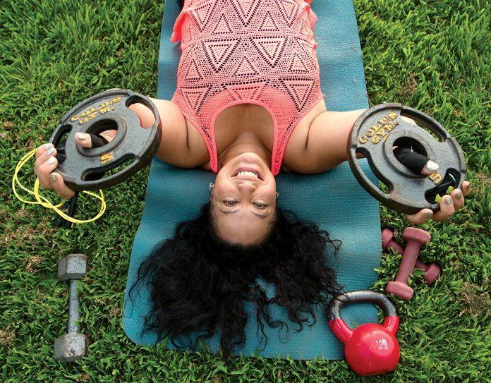 pandemic workout wellness mariana