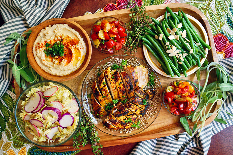 chef for hire food platter