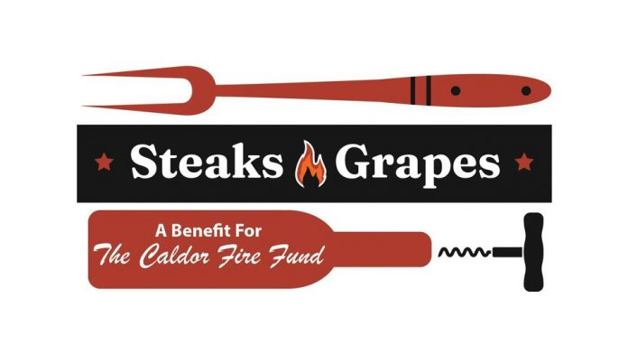 steaks and grapes