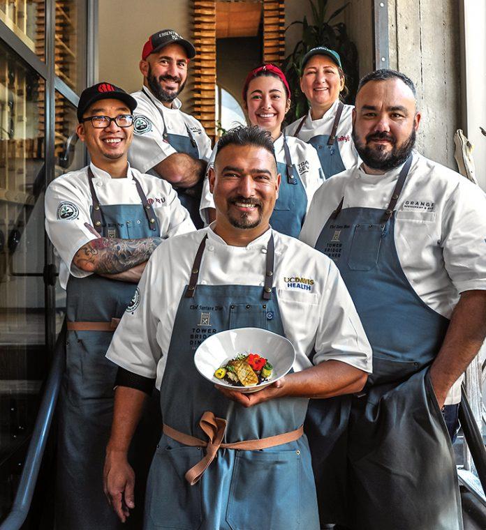 tower bridge dinner chefs