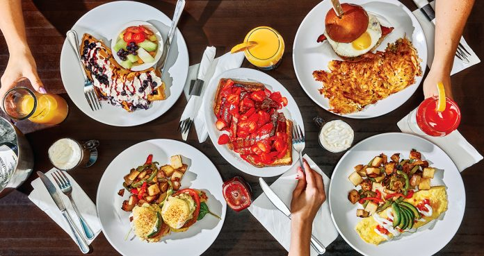 brunch at mimosa house